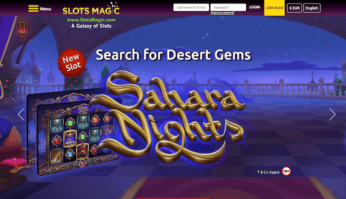 Slots Magic desktop preview