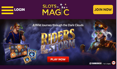 Slots Magic mobile app preview