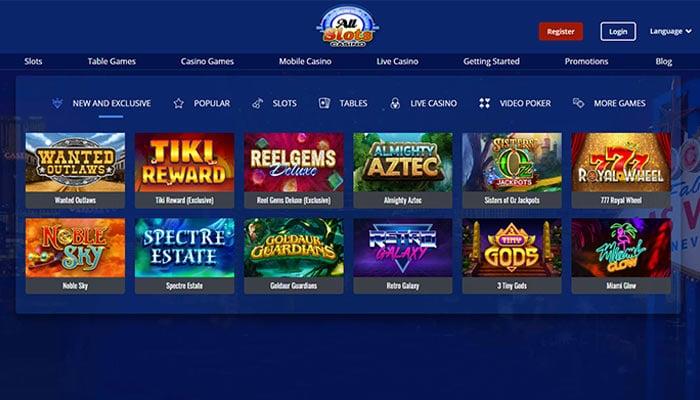 all slot casino - new & exclusive