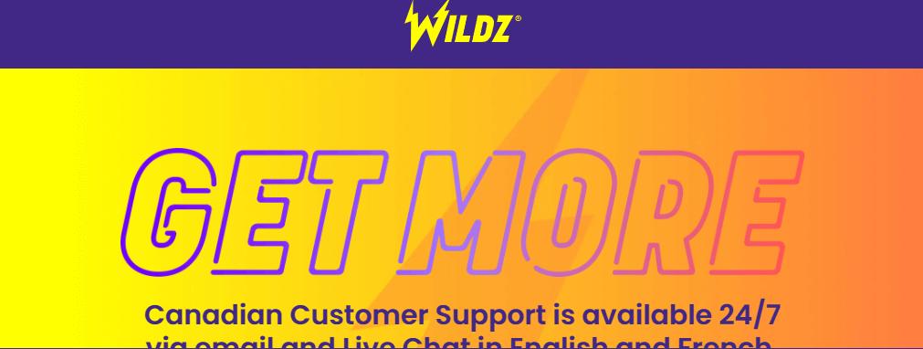 Wildz mobile app preview