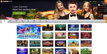 Casino.com desktop preview