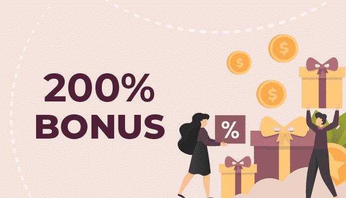 200% bonus casino
