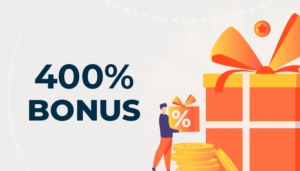 400% casino bonuses
