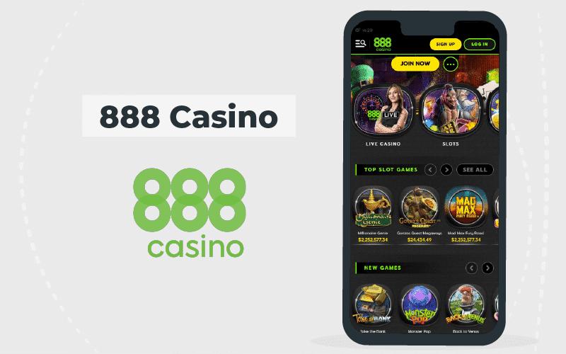 888 casino- mobile version