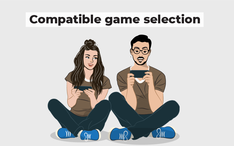Compatible game selection