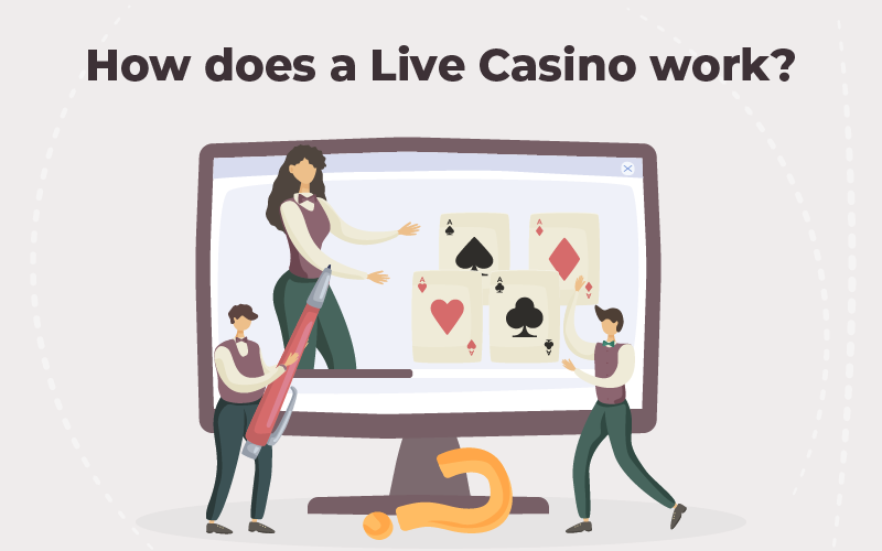 How does a live casino work
