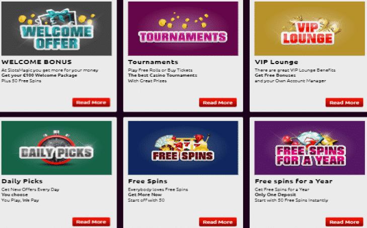 Slots Magic Bonus Codes