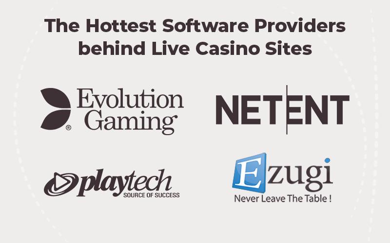 Software Providers Live Casino sites