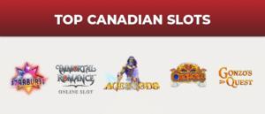 Top Canadian Slots