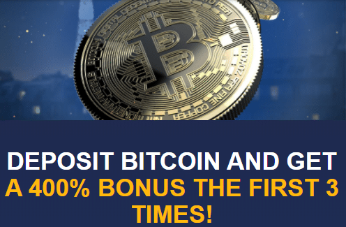 ★400% Bitcoin Second Deposit Bonus at Tangiers Casino