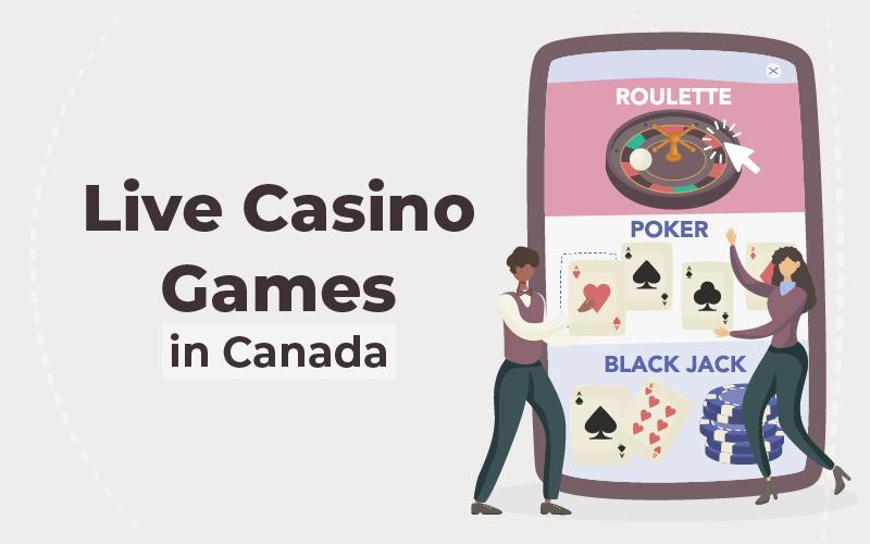 live casino games in Canada