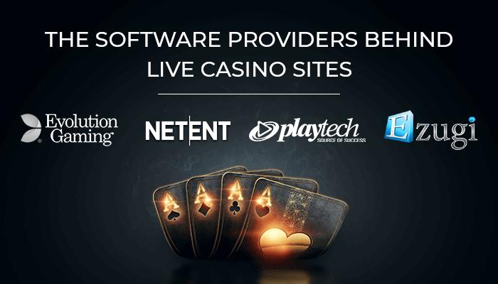 live casino software providers