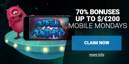 ★ 70% Weekly Match Bonus up to C$200 on Mobile at AstralBet Casino