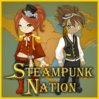 Steampunk Nation logo