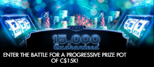 》Win 15K on Progressive Jackpot Games at Tangiers Casino