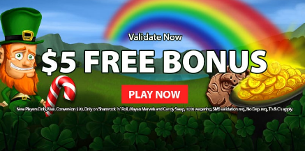 》C$5 No Deposit Bonus at Cloud Casino