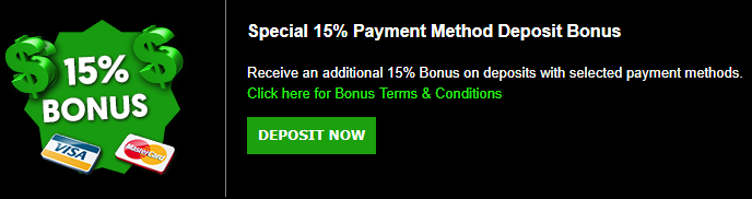 ★ 15% Match Bonus on Payment Methods at Cashpot Casino