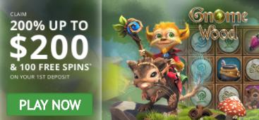 200% First Deposit Bonus up to C$200 + 100 Free Spins at GoWild Casino