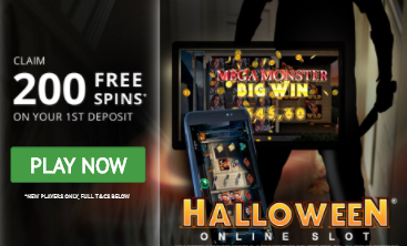 200 Free Spins on Halloween at GoWild Casino