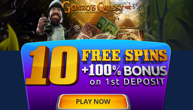 ★ 10 Free Spins on Gonzo's Quest at ZigZag777 Casino