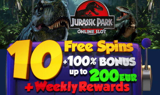 ★ 10 Free Spins on Jurassic Park at ZigZag777 Casino