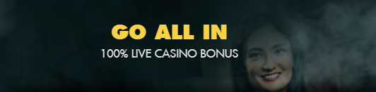100% First Deposit Bonus up to C$100 on Live Casino at Bethard Casino