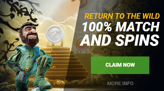 ★ 50% Second Deposit Bonus up to 200 CAD + 25 Free Spins at GoWild Casino