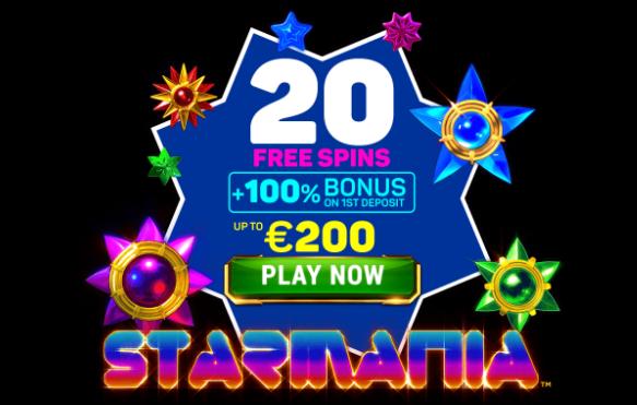 ★ 20 Free Spins on Starmania at Argo Casino
