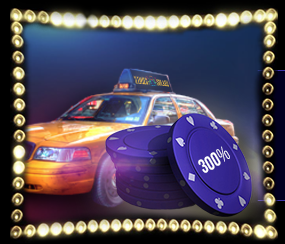 》300% Second Deposit Bonus up to C$1,200 at Times Square Casino