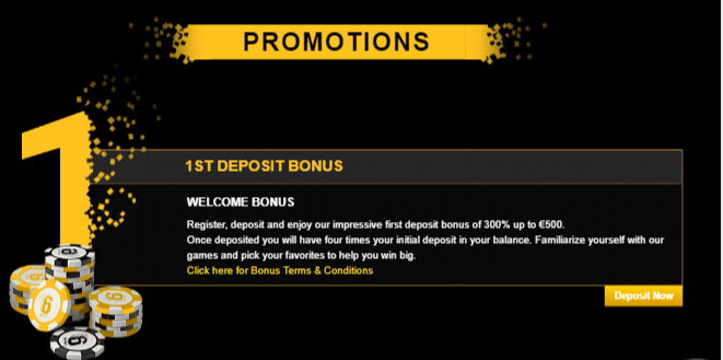 ★ Welcome Package up to C$1500 at 6Black Casino