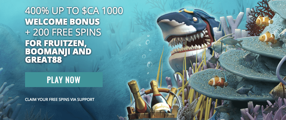 ★ 400% Highroller Bonus up to C$1000 on First Deposit + 200 Free Spins at Casino Superlines