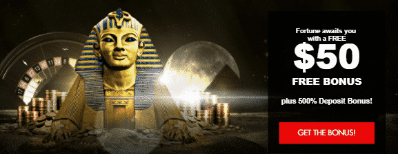 ★ C$50 Free + 500% Welcome Package at Thebes Casino