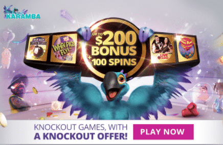 ★ 100% First Deposit Bonus up to C$200 + 20 Free Spins at Karamba