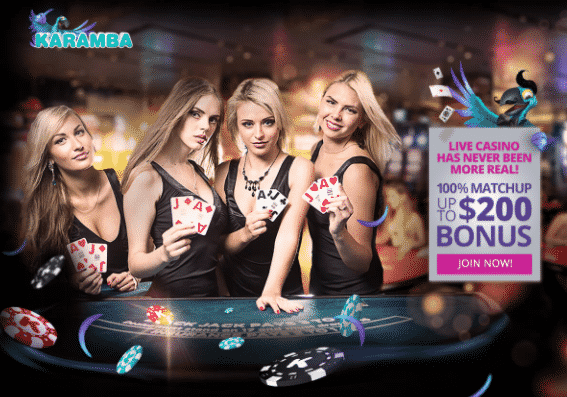 ★ 100% First Deposit Bonus up to C$200 on Live Casino at Karamba