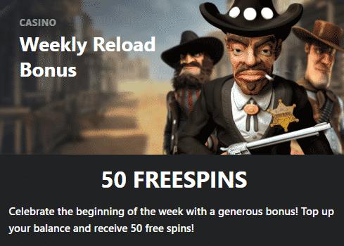 ★ 50 Weekly Free Spins at BuranCasino
