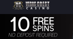 ★ 10 No Deposit Spins on Wild Shamrock at Vegas Crest Casino