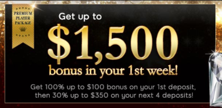 ★ 30% Reload Bonus on 5th Deposit up to C$350 at 888 Casino