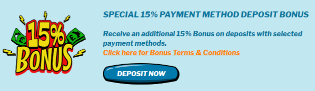 ★ 15% Payment Method Match Bonus at Smashing Casino