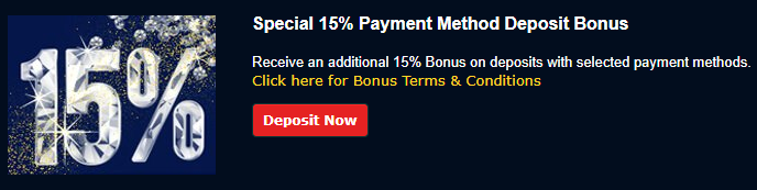 》15% Match Bonus up to C$1000 on PostePay at Ramses Gold Casino