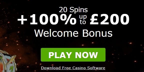 20 Free Spins +100% up to C$200 Welcome Bonus at Mansion Casino