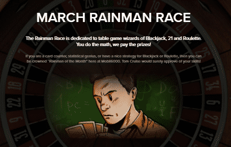 》March Rainman Race at Mobil6000 Casino