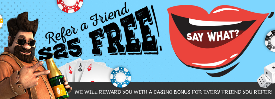 ★C$25 Refer a Friend Bonus at Vegas Crest Casino