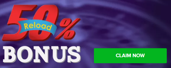★ 50% Second Deposit Bonus up to C$100 at WildJackpots Casino
