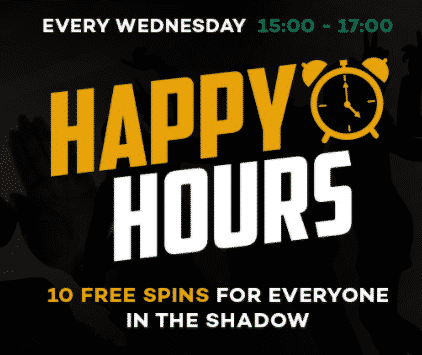》10 Free Spins on Wednesday at ShadowBet Casino