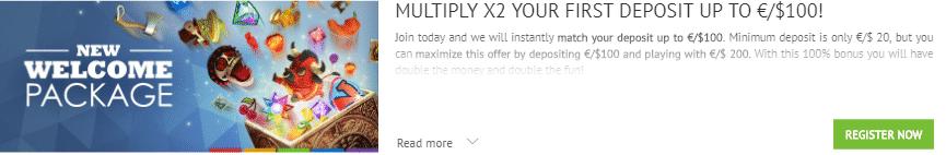 ★100% First Deposit Bonus up to C$100 at SlotsMillion Casino