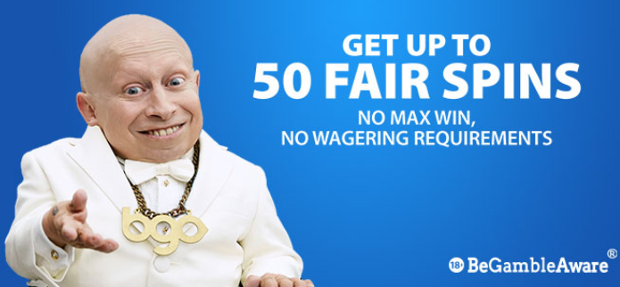 》50 No Wagering Spins on First Deposit at bgo Casino