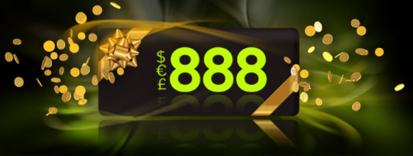 ★ 1st of the Month Tournament Bonus at 888 Casino