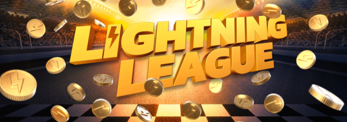 》Daily Lightning League Races at Thrills Casino