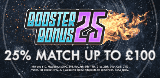 ★ 25% Match Bonus up to C$100 at Coin Falls Casino