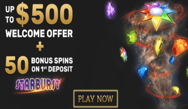 ★ 200% First Deposit Bonus up to C$50 + 50 Free Spins at Touch Lucky Casino